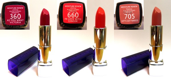 rimmel moisture renew lipstick close ups